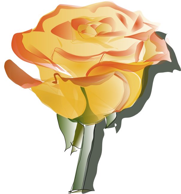 Yellow Rose clipart sweetheart And Rose Animations Yellow Blossom
