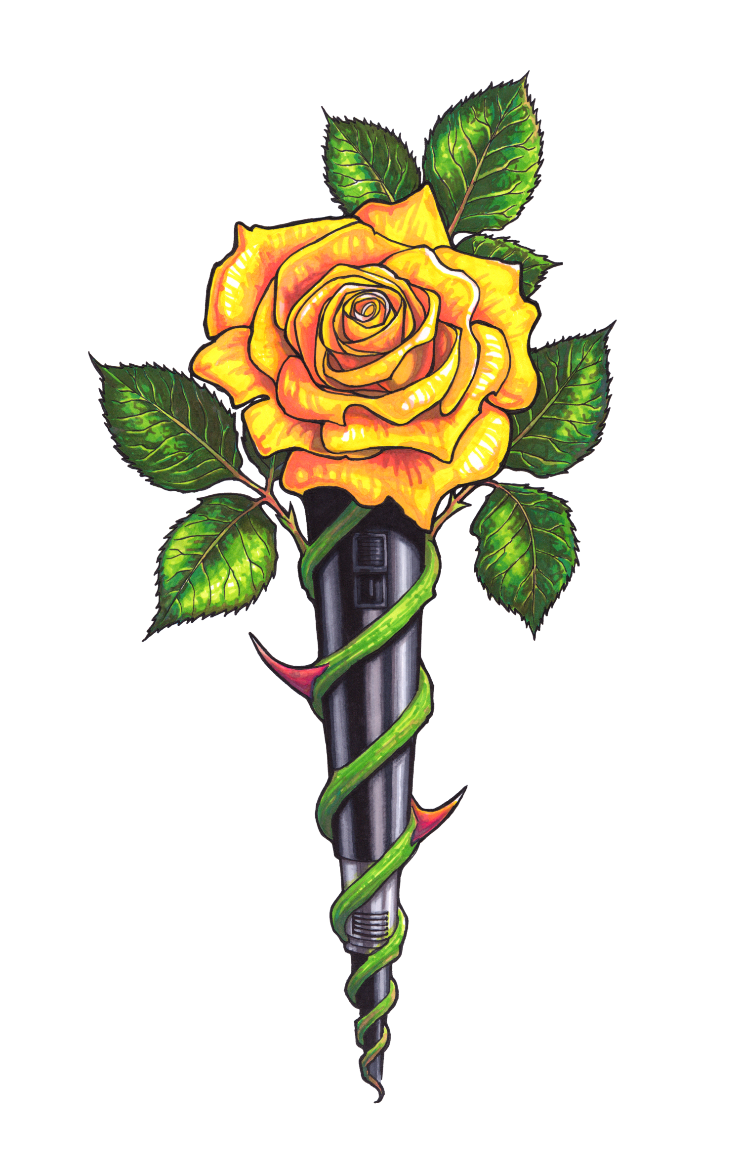 Yellow Rose clipart transparent #13