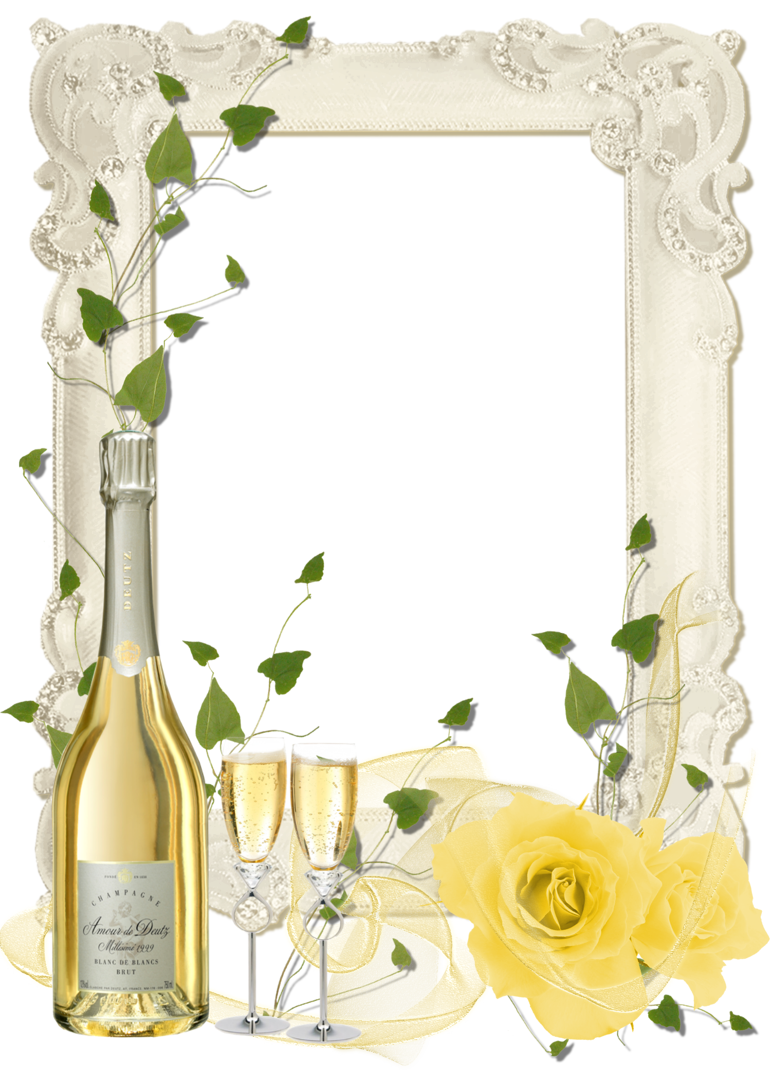 Yellow Rose clipart transparent #11