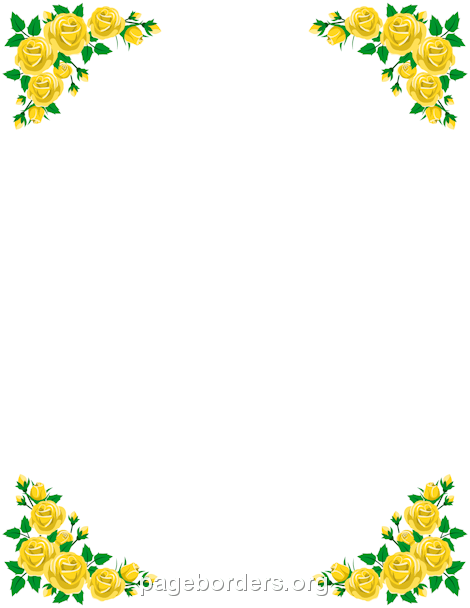 Yellow Rose clipart vector Yellow Yellow Description roses and