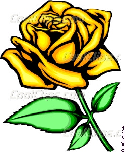 Yellow Rose clipart vector Rose rose Yellow Yellow art