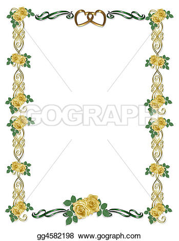 Yellow Rose clipart wedding With roses Art  Clip