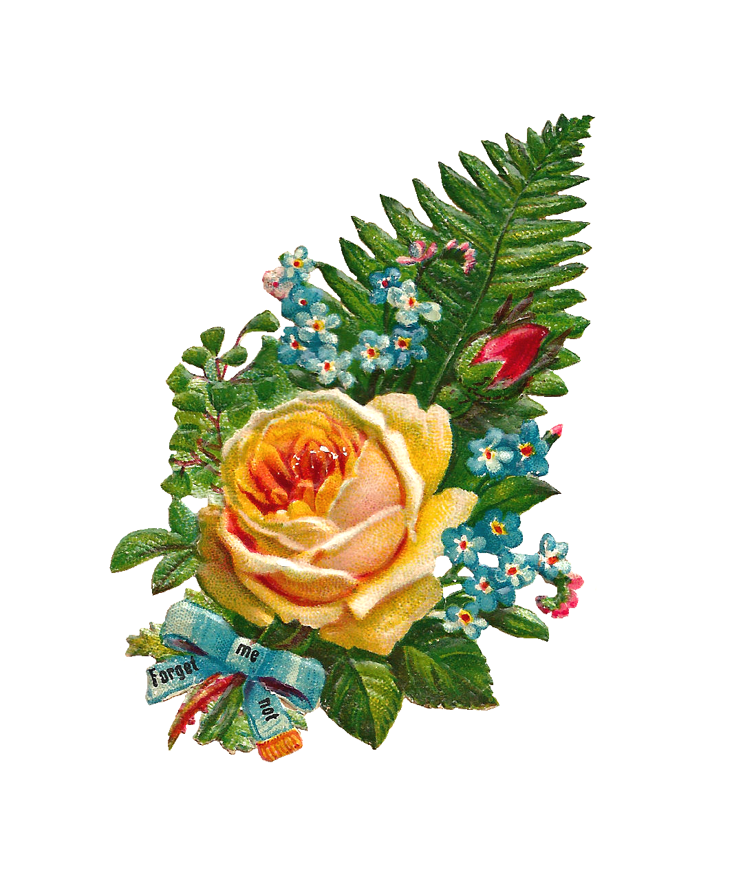 Yellow Rose clipart yellow bouquet Is Not flower This