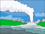 Yellowstone clipart geyser Download Download #18 Geyser drawings