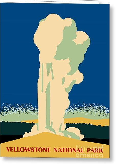 Yellowstone clipart geyser Geyser Heidi by Greeting Leeuw