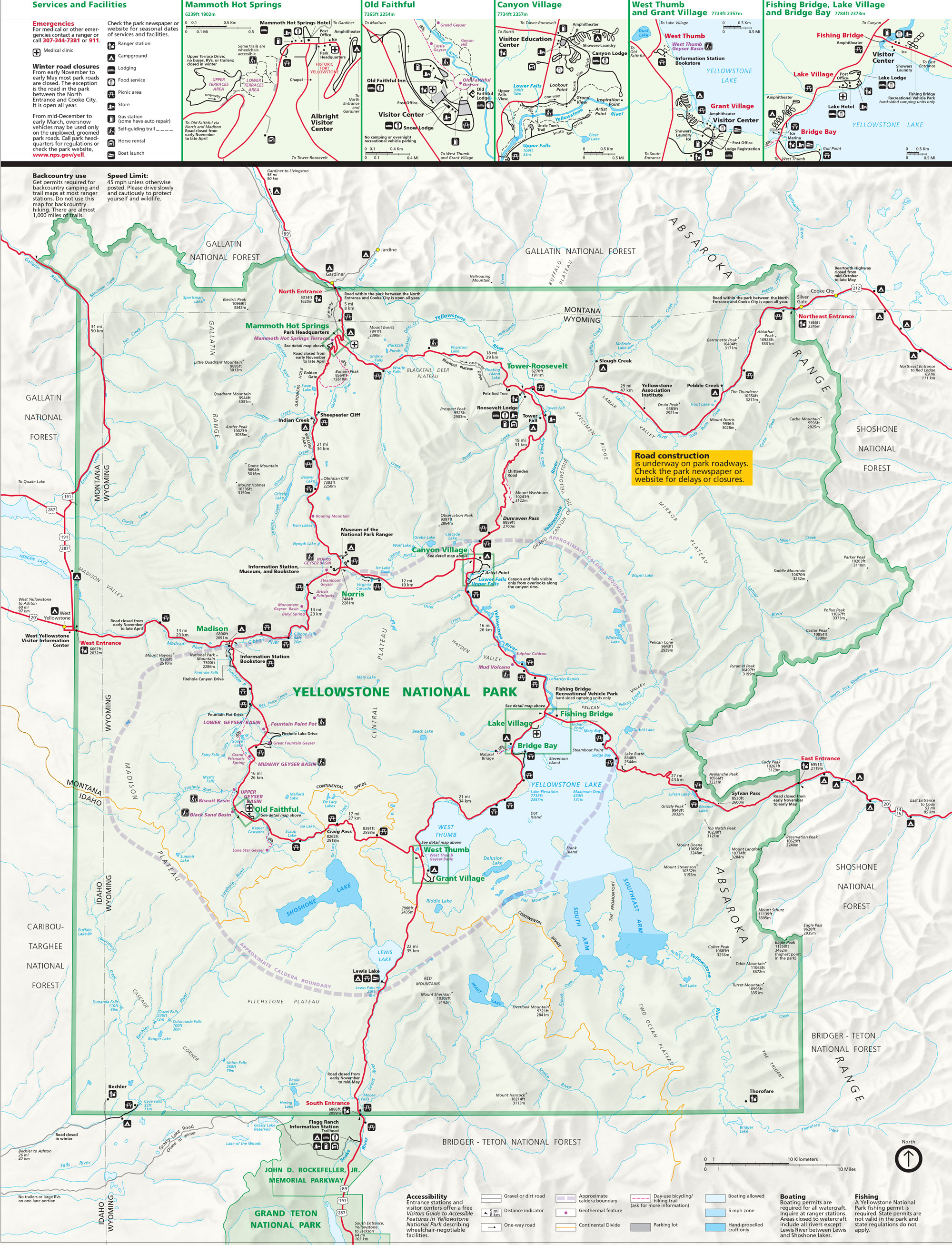 Yellowstone clipart map PID Maps Archives Guides
