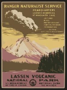 Yellowstone clipart naturalist Ranger Park Volcanic Clip Volcanic