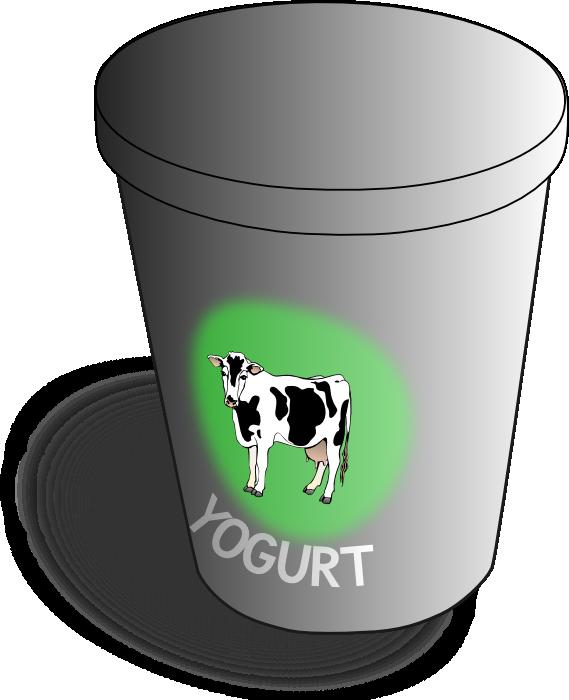 Yogurt clipart dairy Cheese Yogurt & & Cream