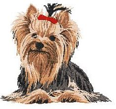 Yorkies clipart  fun! Silhouette and Related