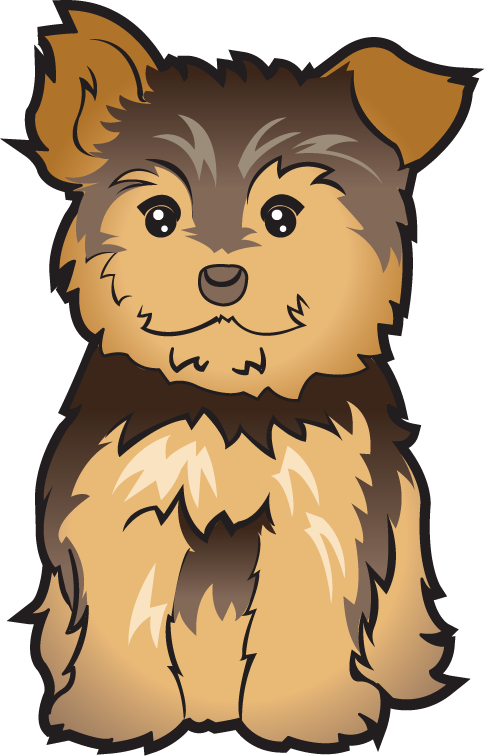 Pets clipart puppy Clipart Yorkie Yorkie cliparts