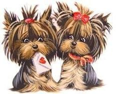 Yorkies clipart Wishes Beautiful best!  Yorkies