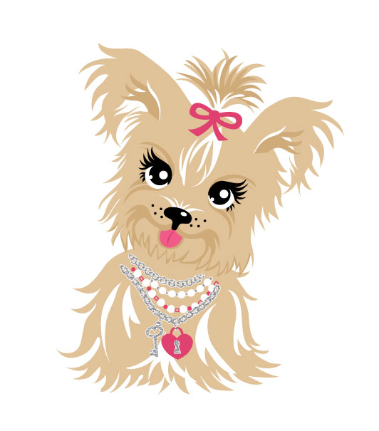 Yorkies clipart Collection yorkie Com puppy Valentino