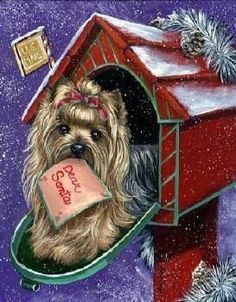 Yorkies clipart christmas Your out Yorkie free Yorkie