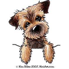 Yorkies clipart cute Cartoon Search images Border