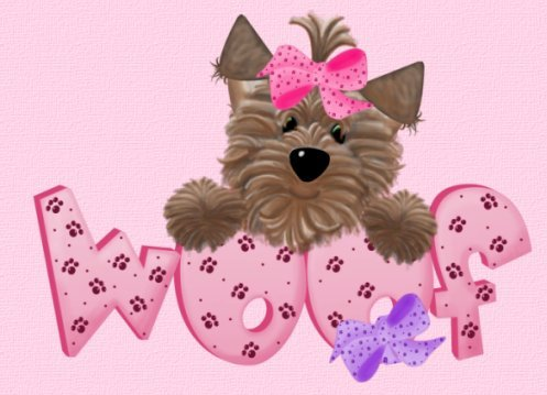 Yorkies clipart cute Graphics: for the crikal Glitter
