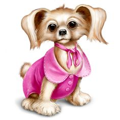 Yorkies clipart cute Dressed скрап на Clipart Yorkshire