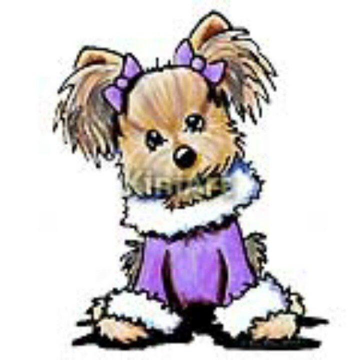 Yorkies clipart cute Best on YORKSHIRE So 944