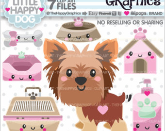 Yorkies clipart poodle Dog 80%OFF Party USE Dog