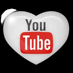 Youtube clipart youtube logo YouTube Heart Image PNG IconBug