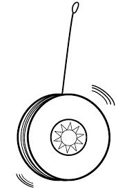 Yoyo clipart black and white On Free Yoyo Clip art