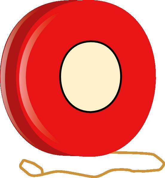 Red clipart yoyo #2