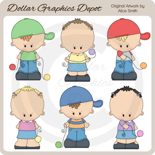 Yoyo clipart kid Art *DGD Art Yo Dollar