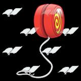 Red clipart yoyo #4