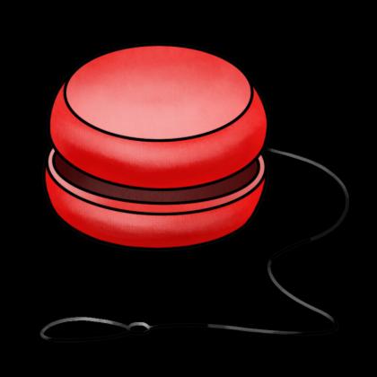 Red clipart yoyo #5