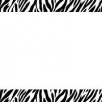 Zebra clipart border Zebra Images  Zebra Clipart