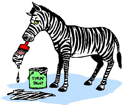 Zebra clipart colored Zebras Clip clip art Zebras
