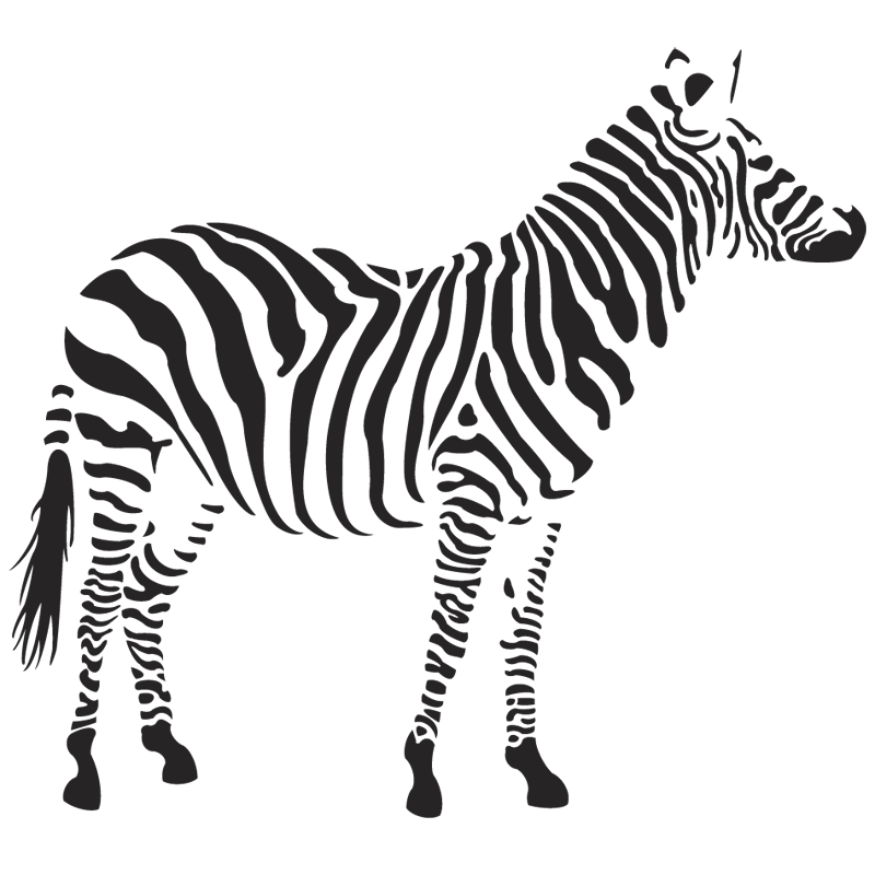 Zebra clipart front view Download PNG images Zebra free