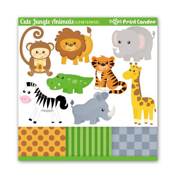 Zebra clipart jungle boy Animals 12 giraffe Use Personal