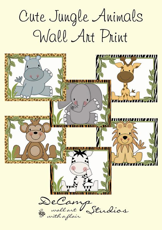 Zebra clipart jungle boy Art Jungle Hippo nursery for