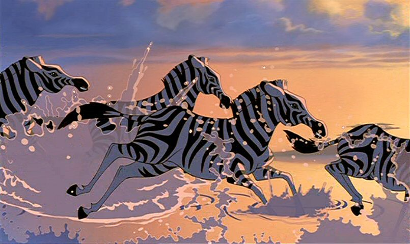 Zebra clipart lion king Zebra Lion Lion zebra photo#7