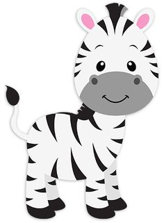 Zebra clipart nursery  María Animales PNG 4shared