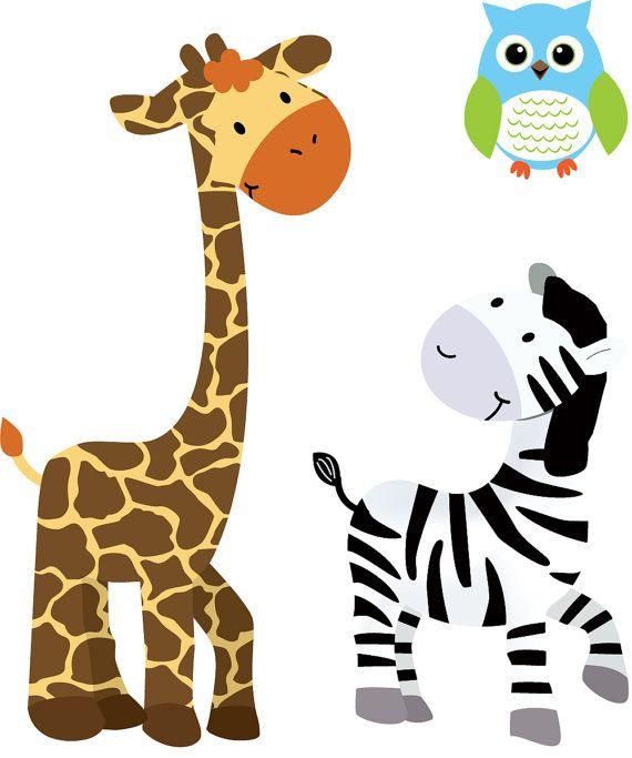Zebra clipart nursery AOC 34 Art Nursery zebra