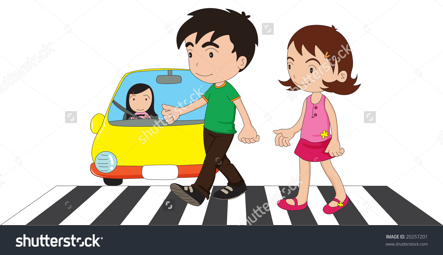 Zebra clipart road Safely crossing Road Crossing collection