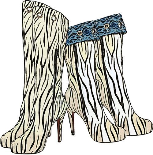 Zebra clipart shoe Zebra clip clip image art