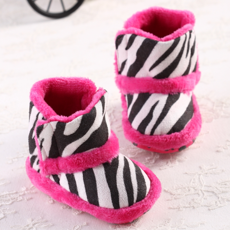Zebra clipart shoe Zebra  first skidproof Winter