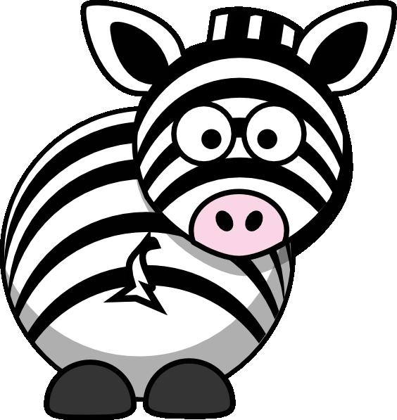 Zebra clipart silly Funny animals zebra art downloadclipart