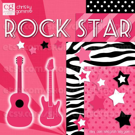 Zebra clipart star Instant Zebra Download  Star