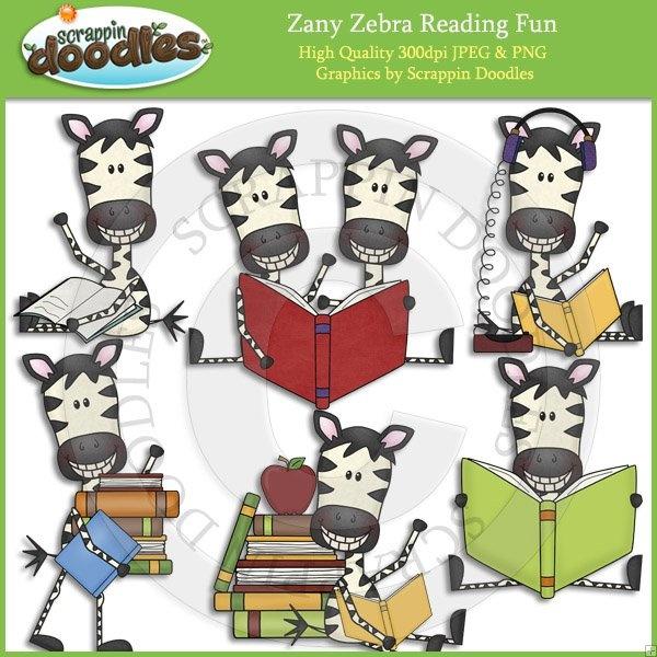 Zebra clipart teacher Theme best Fun Art Zany