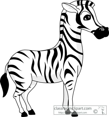 Zebra clipart zebra animal Bay 3 WikiClipArt clipart clipart