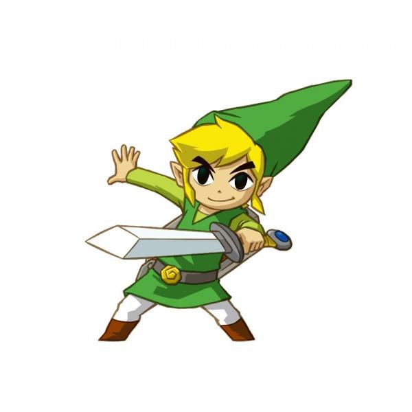 Zelda clipart link to past Zelda: Legend of Tracks The