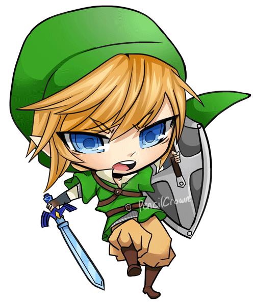 Zelda clipart link to past Zelda Chibi Of Zelda art