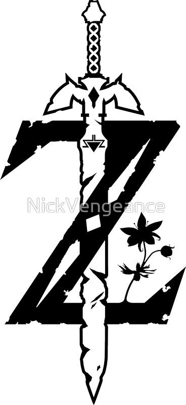 Zelda clipart logo #3