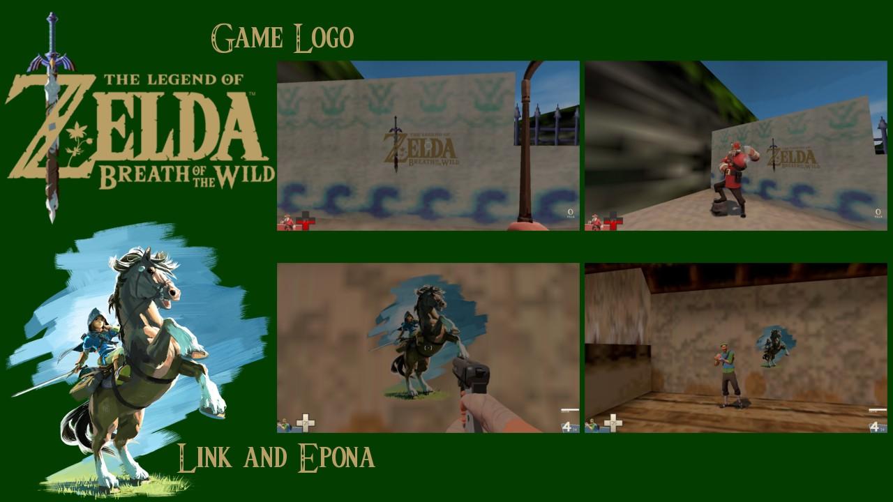 Zelda clipart minecraft (Team Wild Pack the Breath