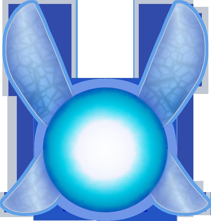 Zelda clipart navi  Kurokami Medaka