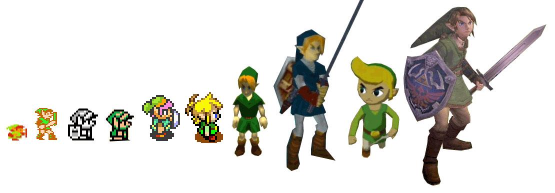 Zelda clipart original link legend ZELDA!