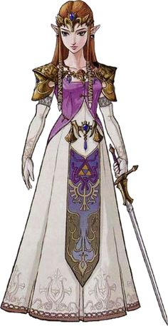 Zelda clipart princess zelda Zelda Princess optional pinup